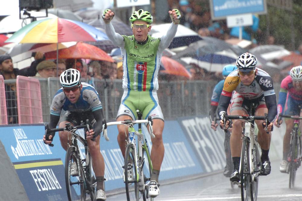 Peter Sagan devance Mark Cavendish et André Greipel