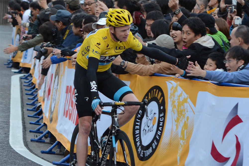 Chris Froome et le Tour ultra populaires au Japon