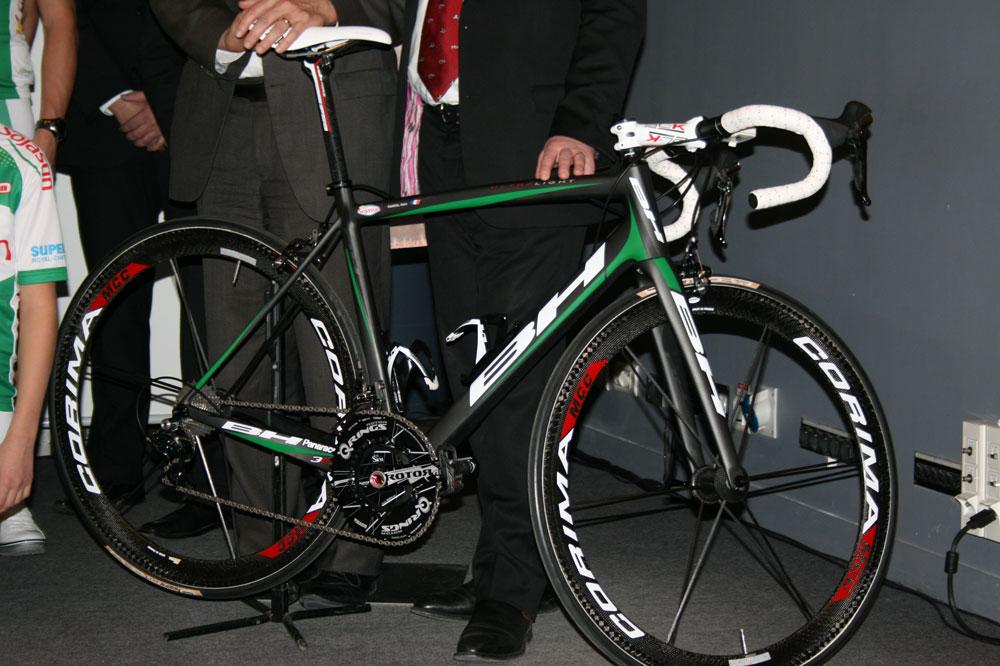 Le vélo BH de Sojasun