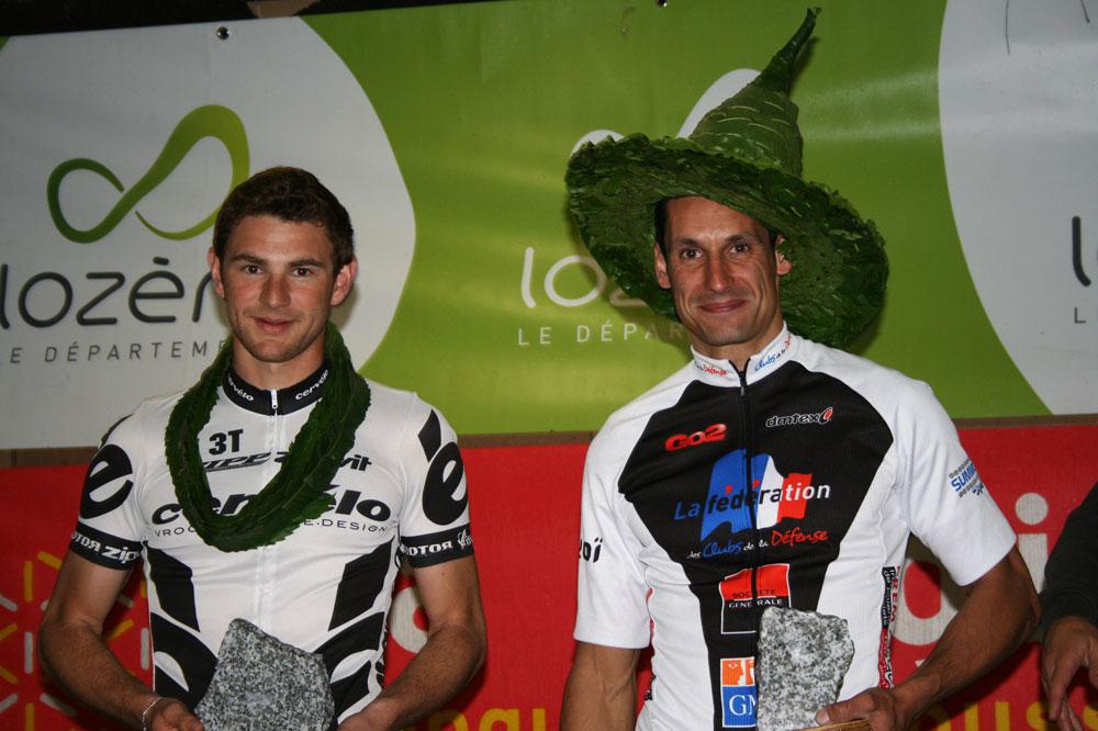 Stéphane Cognet, à droite