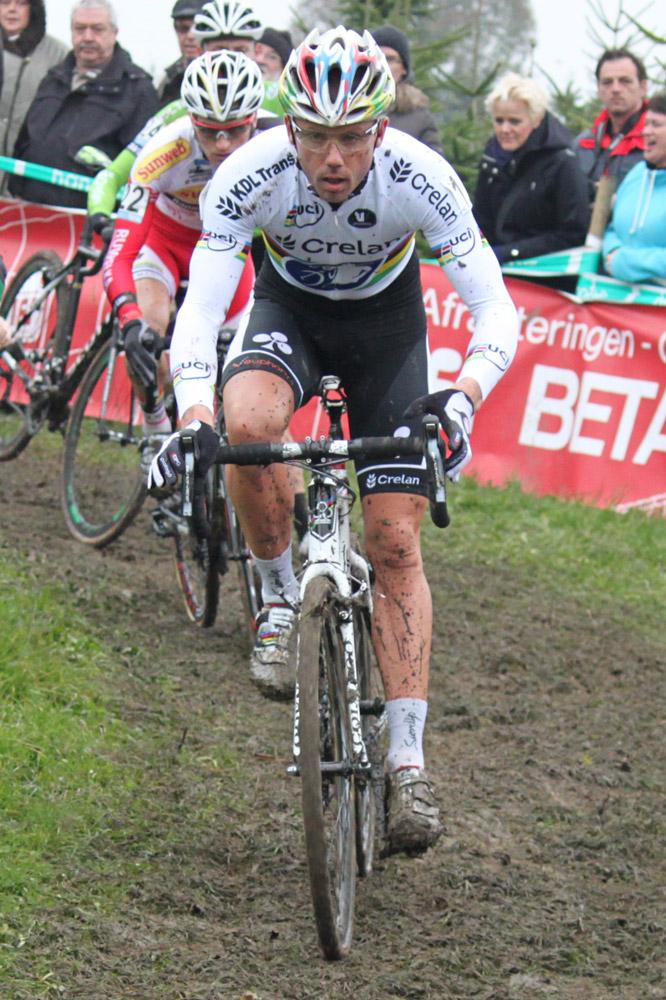 Le champion du monde Sven Nys