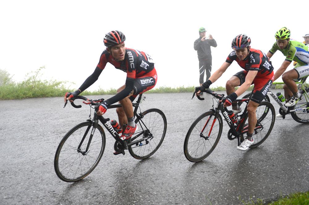 Tejay Van Garderen se met au service de Mathias Frank, Peter Sagan est vigilant