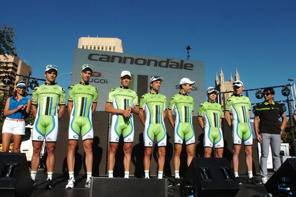 L'équipe Cannondale