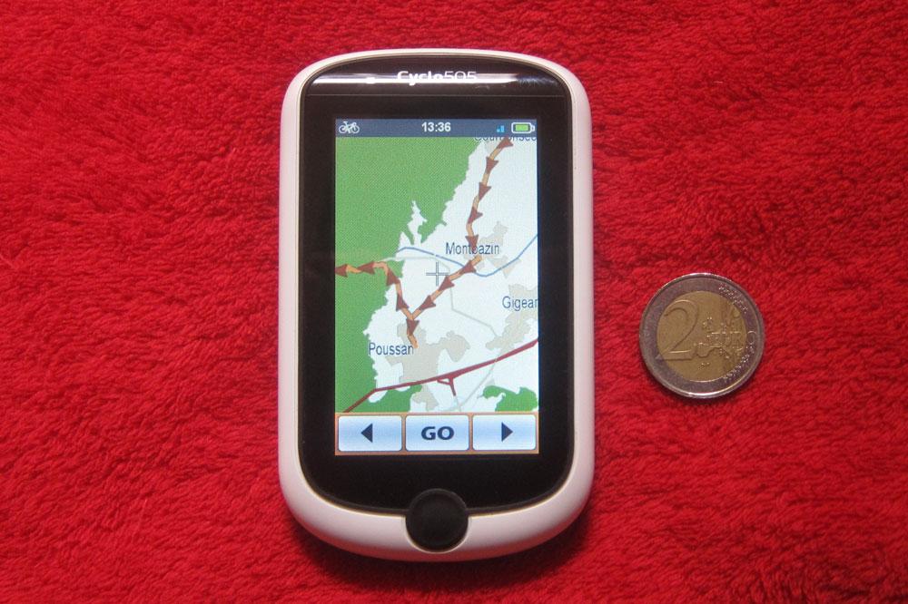 Un GPS à la cartographie et aux dimensions atypiques