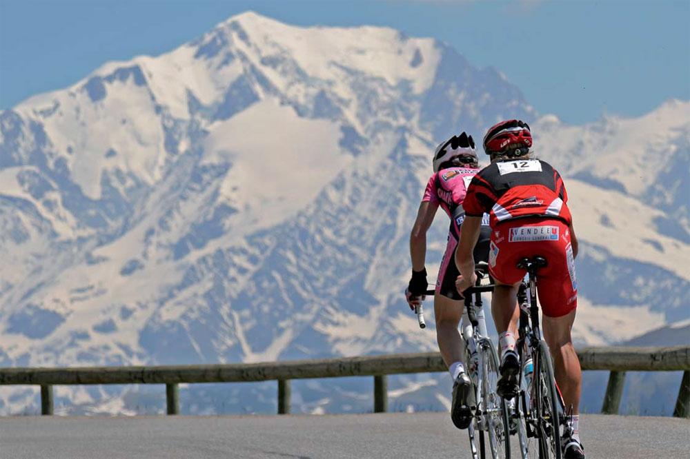 En route pour la Time Megève Mont Blanc