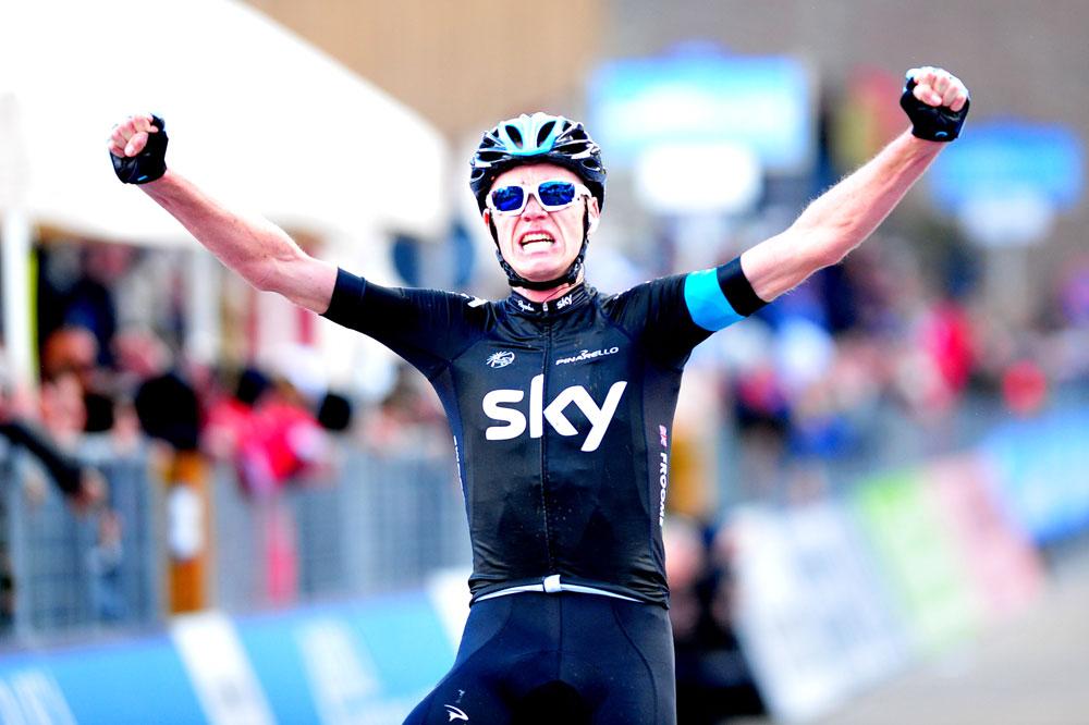 Chris Froome remporte l'étape-reine de Tirreno-Adriatico