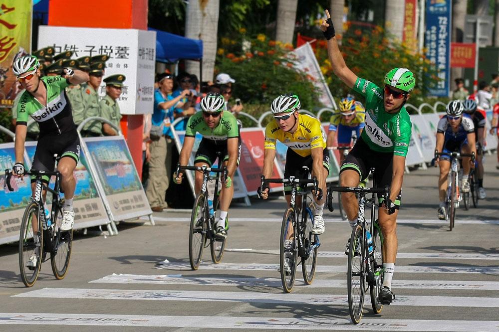 Au Tour de Hainan les Belkin n'ont laissé que des miettes à leurs adversaires