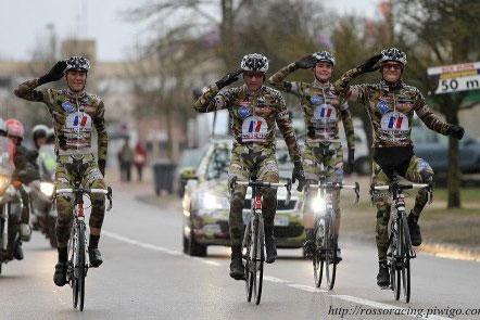 L'Armée de Terre au garde-à-vous et avec le sourire sur Troyes-Dijon