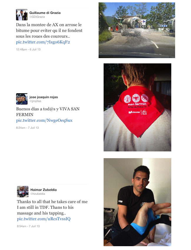 Les tweets du Tour de France 2013