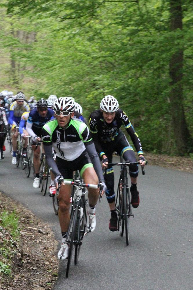 Les cyclos de la Vélostar 91