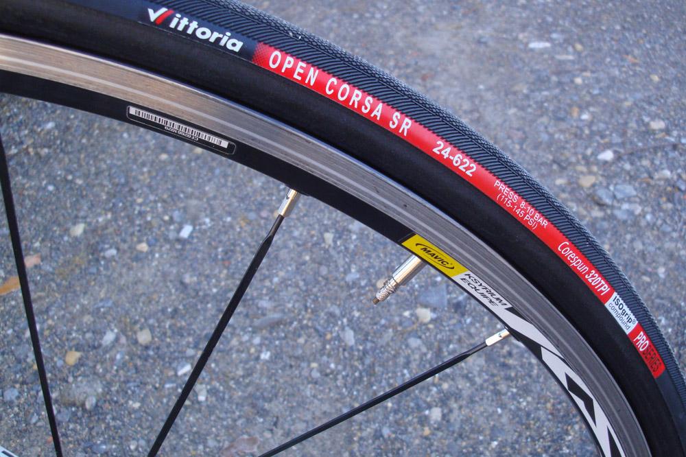 Les pneus Vittoria Corsa SR 320 TPI