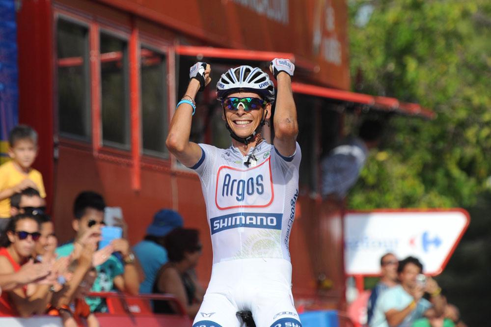 Warren Barguil ouvre son palmarès au Tour d'Espagne