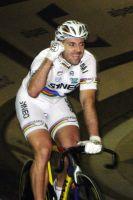 La joie de François Pervis à l'issue du CLM par équipes LCL