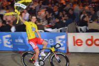 Thomas Boudat en jaune