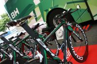 Vélo de contre la montre - Sojasun