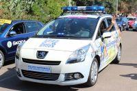 La Police Nationale dans la caravane