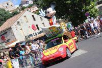 Le Journal de Mickey dans la caravane
