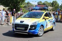 La Gendarmerie dans la caravane