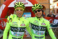 Stefano Garzelli et Mauro Santambrogio