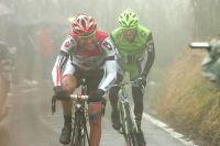 Alessandro Mazzi fend le brouillard