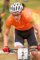 Jaroslav Kulhavy sous le maillot de leader de la Cyprus Sunshine cup
