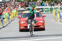 David Veilleux conclut triomphalement la première étape du Dauphiné