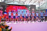 L'équipe FDJ au départ du Giro