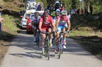 Cadel Evans et Vincenzo Nibali se mesurent vers Montasio