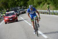 Stefano Pirazzi défend le maillot bleu de meilleur grimpeur du Giro