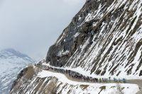 Le Giro affronte un froid polaire