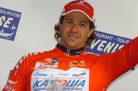 Marco Haller monte sur le podium