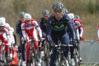 Alejandro Valverde tourne les jambes