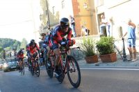 Les BMC Racing Team en plein effort