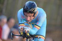 Campenaerts nouveau champion d'Europe (CLM)