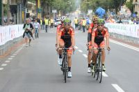 Alejandro Valverde et sa garde rapprochée