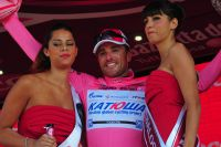 Luca Paolini endosse le maillot rose