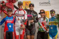 Le podium des Dames de la Cyprus Sunshine Cup