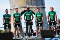 L'équipe Europcar à Porto-Vecchio