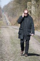Christian Prudhomme sur la trouée d'Arenberg