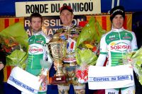 Benoît Sinner gagne la Ronde du Canigou devant Maxime Renault et Julien Guay