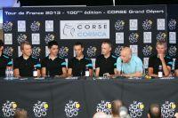 L'équipe Sky autour de son leader Chris Froome