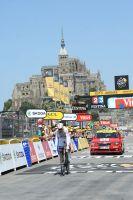 Tony Martin s'impose au Mont-Saint-Michel