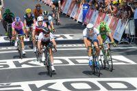 Mark Cavendish se retourne sur un Marcel Kittel infaillible