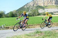 Alberto Contador assaille Chris Froome dans la descente de la Rochette