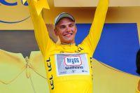 Marcel Kittel en jaune sur le Tour