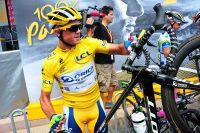 Simon Gerrans en jaune