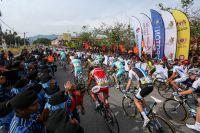 Le Tour de Langkawi salué par une foule nombreuse
