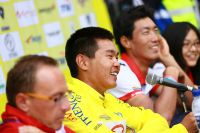 En jaune, Meiyin Wang est l'inattendu champion du Tour de Langkawi