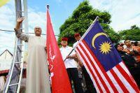 Les officiels malaisiens donnent le coup d'envoi des festivités