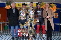 Le podium de la Tramontane autour de Rudy Barbier, Mathieu Teychenne et Antoine Gorichon